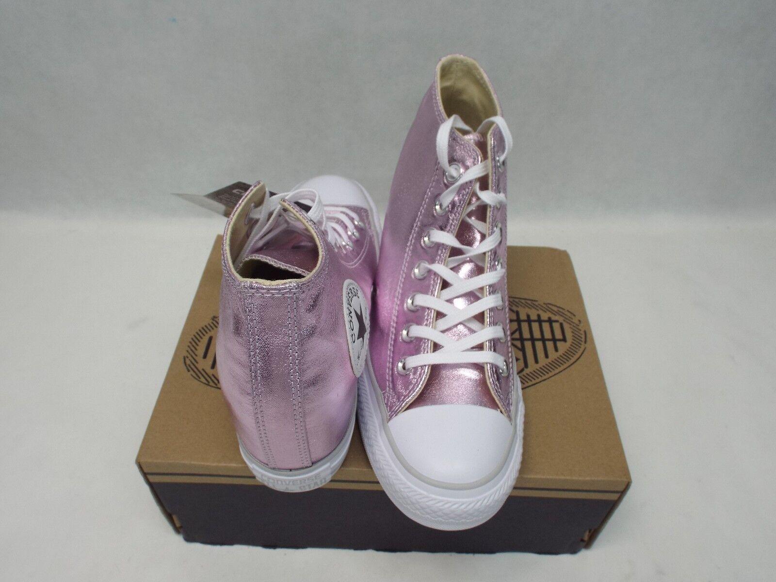New Damenschuhe 10.5 CTAS Converse CTAS 10.5 Lux Mid Wedge Metallic Fuschia Schuhes 70 556779C fadede