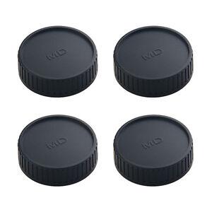 4-PCS-Rueckseite-Objektiv-Abdeckung-fuer-osrso-Minolta-MD-MC-SLR-Kamera-Objektiv-Ersatz