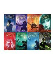 Artemis Fowl Collection Set 1-8 Young Adult Magic Fantasy Adventure Series New!!