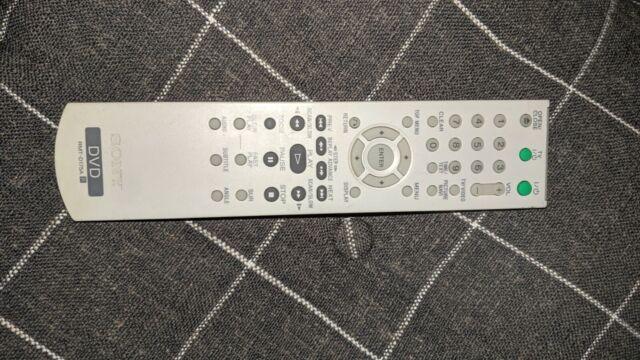 Sony DVD Remote RMT-D175A for DVPNS41 DVP-NS41P DVP-NS45P DVPNS45PS DVP-NS50P