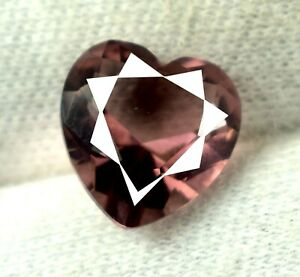 Heart Shape 2.90 Ct Pink Sapphire Natural Gems Certified DG48 Valentine's Day