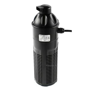 9w aquarium uv sterilizer w submersible pump filter fish tank pond up to 600 gal ebay. Black Bedroom Furniture Sets. Home Design Ideas