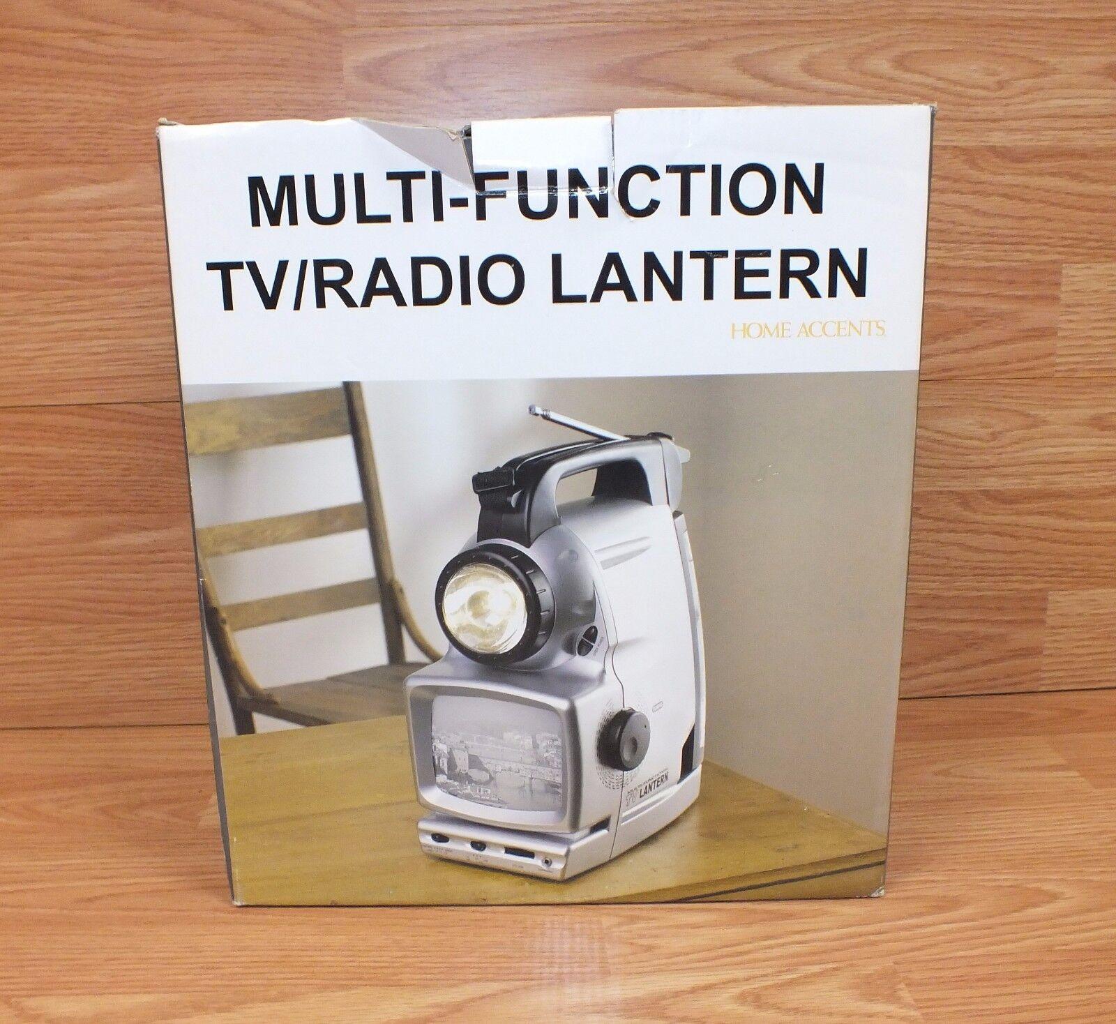 Unbranded (LT631-D) 5 in 1 Multi Functional 5  TV Radio Lantern w  Siren & Flash