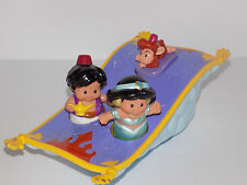 Fisher Price Little People Musical Magic Carpet Jasmin Aladdin