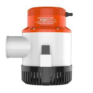 4 Year Warranty! SEAFLO Marine Bilge//Sump Pump 1500GPH 12v Unlike Rule