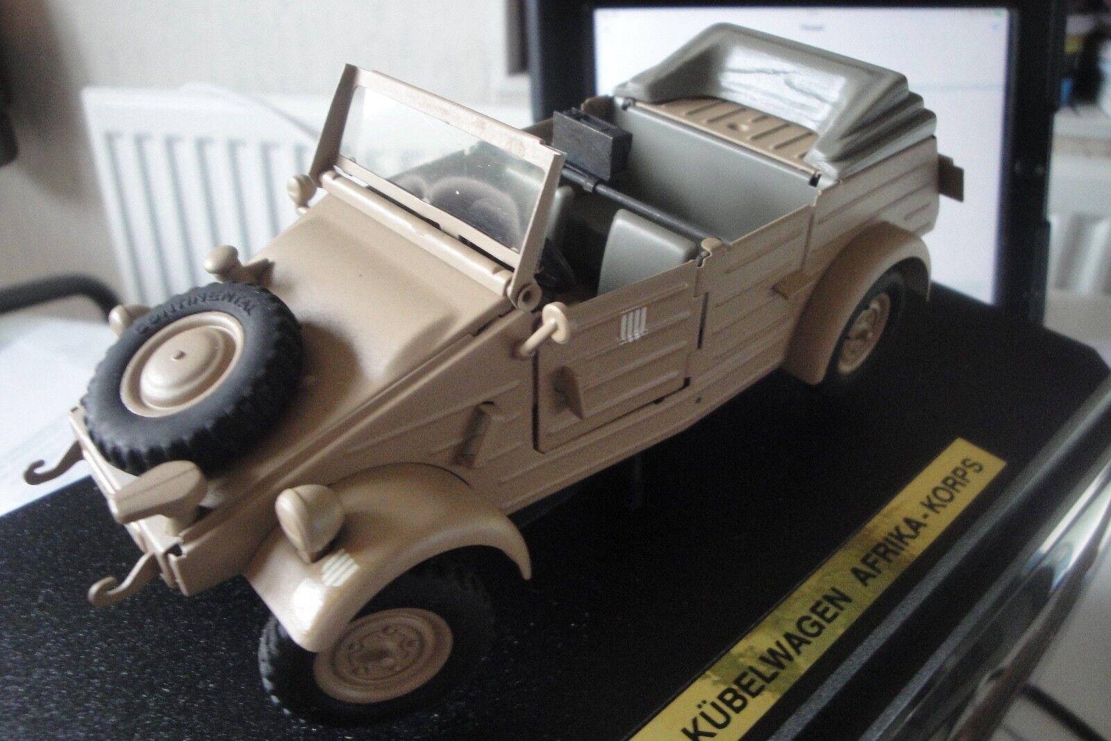 Gonio Gonio Gonio Kaden 1 24  VW -82 Kubelwagen trópico 1001 Afrika Korps en Caja 4cf8bc
