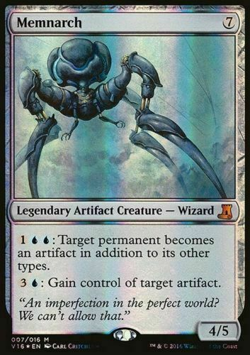 1x FOIL MEMNARCH NM Magic the Gathering From the Vault MTG