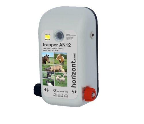 HORIZONT Weidezaungerät trapper AN24 Netz//Akku AN12 Elektrozaungerät AN8