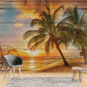Tapete Fototapete für Wohnzimmer Natur Landschaft Tropen ...