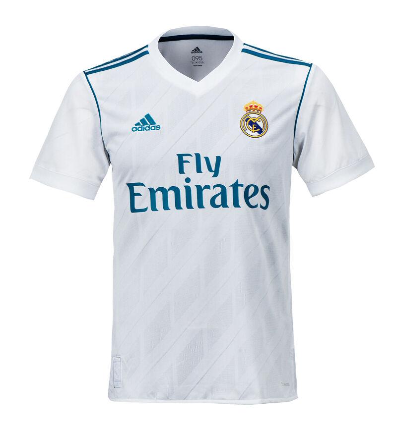 Adidas 17-18 Real Madrid Jersey de manga larga corta AZ8059 uniforme De Fútbol