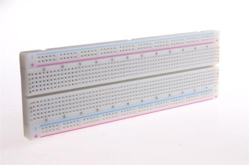 MB-102 MB102 830 puntos protoboard sin soldadura PCB Placa Protoboard Test Hazlo tú mismo