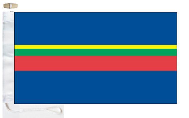 Sea Cadet Corps SCC Courtesy Boat Flag Roped /& Toggled.