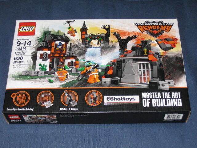 Lego 20214 Master Builder Academy Aventura Diseñador 2013 Nuevo