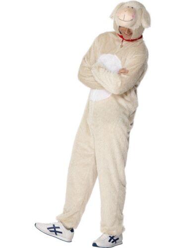 Uomo Agnello Tuta Costume PROMOZIONE Vestito Da Party Animal addio al celibato tema