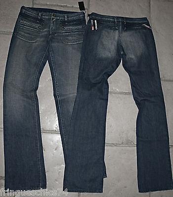 jeans gris slim MARITHÉ FRANCOIS GIRBAUD playktrix T W26 36 NEUF ETIQUETTE