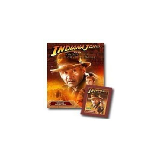 Merlin Indiana Jones Sticker Collection 20 Packets of Stickers