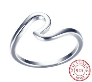 925-Sterlingsilber-Ring-Damen-Ringe-Welle-Ozeanwelle-Ozean-52-Filigran-Silber