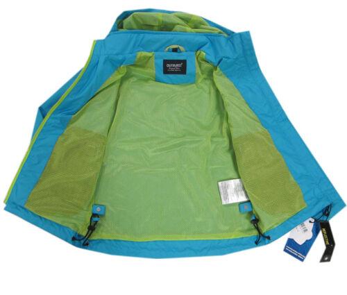 Outburst chaqueta lluvia chaqueta niños jóvenes impermeable capucha talla 92,98,104,110,122