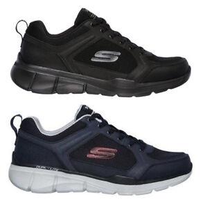 SKECHERS-EQUALIZER-3-DECIMENT-52940-BBK-scarpe-uomo-sportive-sneakers-camoscio