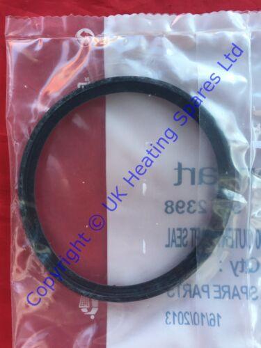 Système principal 24 /& 28 eco chaudière 100MM flue adaptateur joint rondelle 5112398