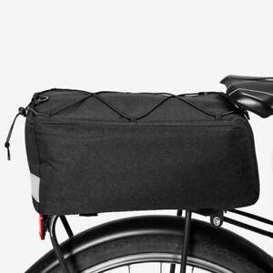 Bike Bicycle Bags Rear Rack Waterproof Bag Mountain Tail Seat Pack Carrier Road