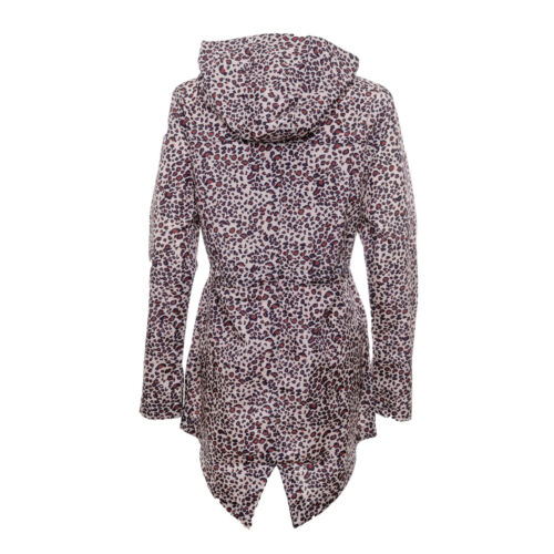 Women/'s Brave Soul Hooded Fishtail Festival Raincoat Shower Proof Mac RRP £29.99