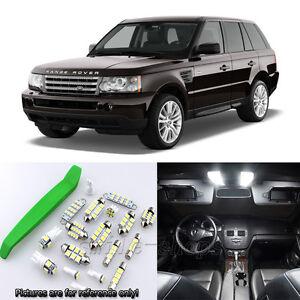 HID White 20pcs Interior LED Light Kit for 2003-2009 Range Rover + Free Tool