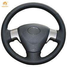 Black Leather Wheel Cover for Toyota Matrix Auris 2007-2009 Corolla 2006-2010