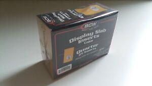 BCW Dime Display Slab Insert Protectors 25ct Package NIP 2 11//16x1 13//16 Gold