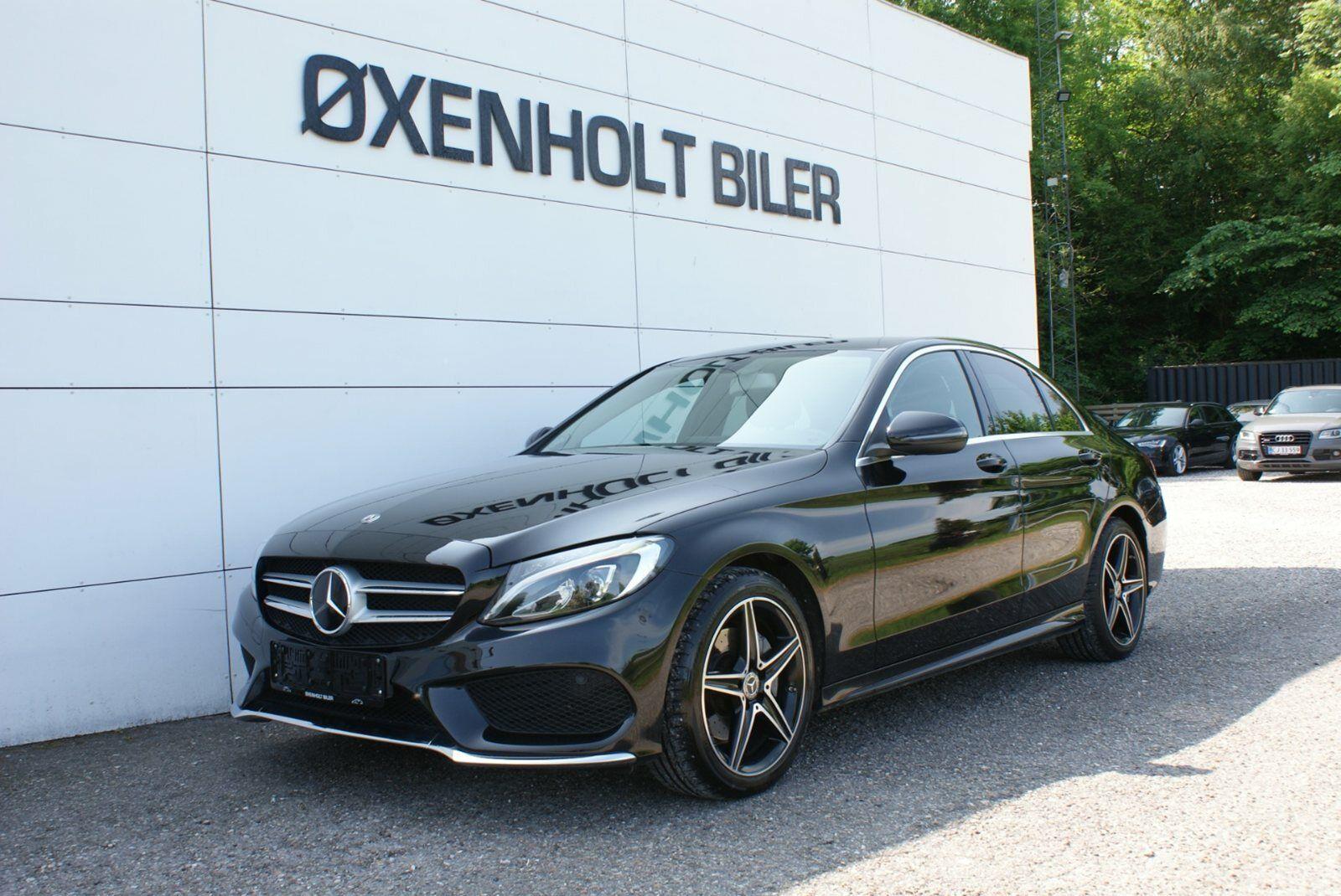 Mercedes C200 2,0 AMG Line aut. 4d - 409.900 kr.