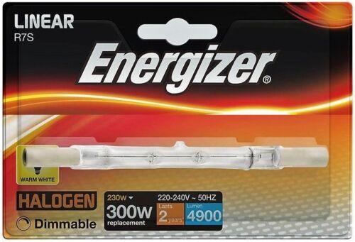 Energiesparende 118mm Linear Wolfram Halogen R7s Birnen 300w Energizer 230w