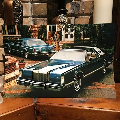 1979 LINCOLN CONTINENTAL MARK V LUXURY GROUP OPTION ULTIMATE 12X18 PHOTO  POSTER | eBay