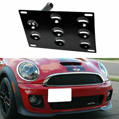 Tow Hook License Plate Mount Bracket Holder For 10-16 MINI Cooper R60 Countryman