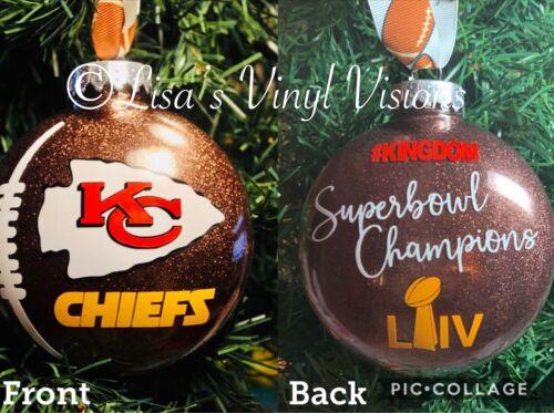 Kansas City CHIEFS™ SUPERBOWL CHAMPIONS Ornament Mahomes Kingdom Keepsake