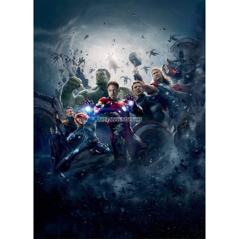 Adesivi Gigante Decocrazione Avengers 15169 15169