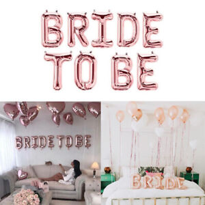 Team-Bride-To-Be-Hen-Party-Night-Rose-Gold-Ballons-Supplies-Sashes-Decoration-DA