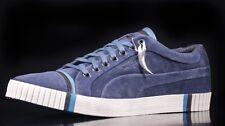Puma AMQ Scarred SUEDE Dark Denim Shoes UK 10.5 BY ALEXANDER MCQUEEN