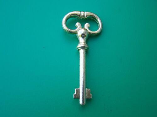 Two Bitted For Desk Locks Keys Brass Antique Style Key Cabinet Lock Keys