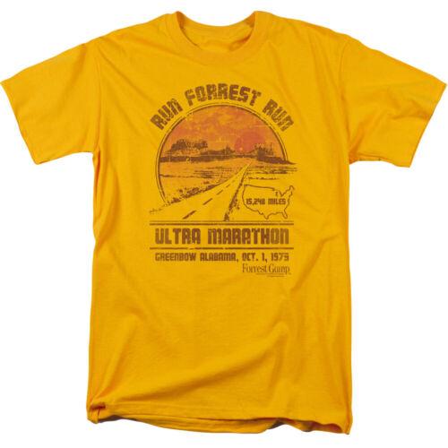 "through 5X Forrest Gump /""Ultra Marathon/"" T-Shirt"