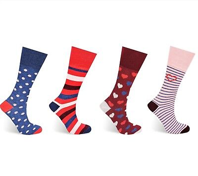 Ladies Non-Elastic Diabetic Diamond Knit Fashion Socks 4-7 2453