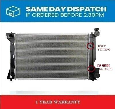 cooling radiator Motors Toyota Avensis T25 2003-2008 Koyo Cooling ...