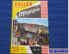 Faller  AMS --  Modellbau Magazin 53 von 1966 !