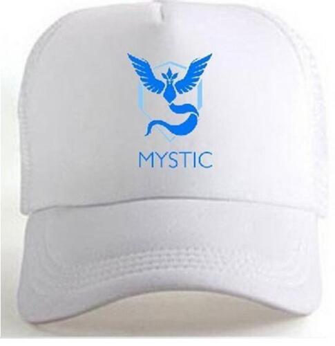Game Pokemon Go Team Valor Team Mystic Team Instinct Snapback baseball Cap Hat