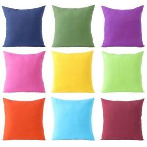 Cuscini Colorati Per Divani.Cotone Colorato Decorativo Cuscino Divano Copriletto Custodia