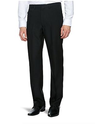 Hosen 34/31 Srp £45.00 2019 Mode Farah® Frogmouth Hopsack Trousers/black