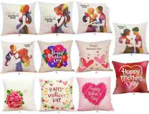Happy Mother S Day Pillow Case Cushion Covers Gift Sofa Throw Pillows Ebay
