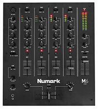 Numark M6 USB 4 Channel DJ Mixer - Black