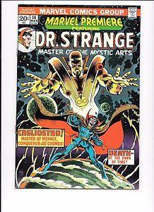 Marvel-Premiere-14-Featuring-Dr-Strange-March-1974-last-Dr-Strange