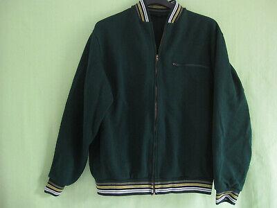 Ultima Raccolta Di Veste Trevois Made In France Polyamide Vert Vintage 80's Jacket Retro - S