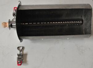 DIY Fire Basket Box of Charcoal Wood Pellet to build UDS ...